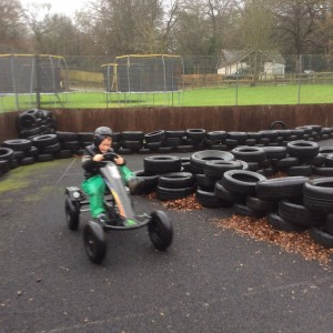 Winter Camp Go Kart